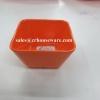 ชามสี่เหลี่ยม 3 นิ้ว สีส้ม 017-D999-3