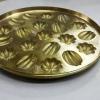 พิมพ์ขนมไข่ทอง 2 ลาย 016-KK-B21 Khanom khai thong mold 20 hole. 016-KK-B21 อุปกรณ์ทำขนม