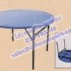 โต๊ะกลมจีน-ขาซ่อนหน้าเหล็ก Code : 015-FRS-46