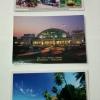 โปสการ์ดท่องเที่ยวไทย ชุด 3 ใบ 3 แบบ รูปรถไฟโบราณ, สถานีหัวลำโพง และเกาะช้าง