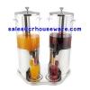 เครื่องจ่ายน้ำผลไม้-แบบคู่ ขนาด 16 ลิตร Juice Dispenser Double 16 L. 005-VC002