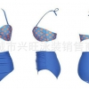 ชุดว่ายน้ำ ไซส์ xl ทูพีช สีฟ้า ลายจุด รอบอก 34-38 เอว 30-36 สะโพก 34-40 นิ้วค่ะ สวยมากๆค่ะ