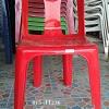 เก้าอี้พลาสติกมีพนักพิง อย่างหนา มียางกันลื่น 015-FT236