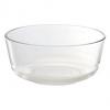 """Bowl 7"""" 013-P00725 ชามแก้ว,ถ้วยแก้ว,ชามสลัดแก้วใส,ถ้วยใส่สลัดบุฟเฟย์"""