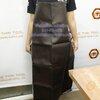 ผ้ากันเปื้อนหนังเทียม สีน้ำตาล Code : 044-PK-LTR