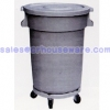 ถังขยะล้อเลื่อน ถังขยะมีล้อ 80 ลิตร 001-HK-07510 Trash bin wheels. 001-HK-07510