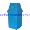 ถังขยะเนื้อโพลีเอทธิลีนความจุ 60 ลิตร 001-TC60 Trash polyethylene. 60 liter. 001-TC60