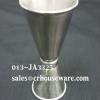 ถ้วยตวงเหล้าสเตนเลส นำเข้าญี่ปุ่น ขนาด 25-33 ซีซี รหัส : 013-JA3325 Stainless jigger import from Japan 25-33 cc. Code : 013-JA3325