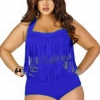ชุดว่ายน้ำคนอ้วน ทูพีช สีน้ำเงิน รอบอก 44-48 เอว 36-40 สะโพก 40-46 นิ้ว เซ็กซี่มากค่ะ