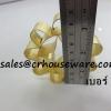 พิมพ์ขนมดอกจอกทองเหลือง เบอร์ 3 Dok Jok brass mold. Code: 016-DJT-8