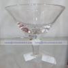 Short Martini 7 cm. - แจกันแก้ว แฮนด์เมด เนื้อใส ทรงค็อกเทล ความสูง 7 ซม. JJG-SM7