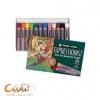 สีชอล์คน้ำมันSakura Expressionist 12สี