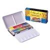 ชุดสีน้ำSennelier 12สี ครึ่งก้อน กล่องโลหะ (Sennelier Artist Watercolor Half Pan Metal Case, Set of 12)