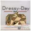กระเป๋าออกงาน TE033 : กระเป๋าออกงาน พร้อมส่ง สีทอง สวยเก๋แบบไม่ซ้ำใคร ใช้สะพายออกงานเช้า กลางวัน หรือถือไปงานกลางคืน ออกเดท สวยหรูดูดีที่สุด