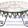 ที่วางขนมเค้ก วางค็อกเทล วางซูชิ ทรงกลม ฎ รวมจานแก้ว Buffet_display,Food_display Code : 005-FF500-18R