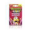Crayola Rock & Roll สีเทียนแท่งเล็ก กล่องละ 8 แท่ง ปลอดสารพิษ
