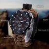 นาฬิกาข้อมือฉุกเฉิน 4 IN 1 เหมาะสำหรับเดินป่า