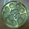 พิมพ์ขนมไข่ทอง 12 ลายจิ๋ว 016-KK-B12. Khanom Khai thong mold. 016-KK-B12 อุปกรณ์ทำขนม