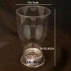 แก้วน้ำพลาสติกริมสระน้ำ Glass plastic poolside. SAN-8512