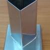 แท่นหล่อเทียนสเตนเลส รูปหัวใจ-สูง 10 ซม. รหัสสินค้า 016-CH-02 Candle mold heart shape. 016-CH-02 แบบหล่อเทียน