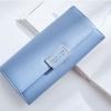 กระเป๋าสตางค์ผู้หญิง ทรงยาว รุ่น Weichen Forever Young SQ สีฟ้าอ่อน ส่งพร้อมกล่อง
