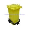 ถังขยะแบบเหยียบฝาเรียบ-ความจุ120 ลิตร 001-ST120 Smooth pedal bin lid. 120 Liter. 001-ST120