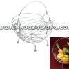 ตะกร้าใส่ผลไม้ ทรงกลม สแตนเลส Chingcha basket put fruit stainless steel round. 075-ST-906