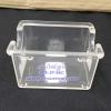 ที่ใส่ซองน้ำตาล สีใส Sugar pack holders Code : 005-JP-56C