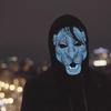 หน้ากากดนตรี Sound Reactive LED Mask