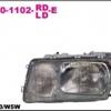 เสื้อไฟหน้า BENZ W126 ปี80-92 (4ประตู)