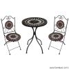 """017-HB360T : โต๊ะโมเสค """"ROWELLA"""""""