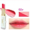 NOVO Double Color Lipstick Moisturizing Gradient Lipstick #02 Peachy ลิปทูโทน เทรนด์ทาปากไล่สีแบบสาวเกาหลี ลิปสติกนวัตกรรมใหม่ที่ดีกว่าด้วย 2 สี และ 2 เนื้อสัมผัส ที่ไม่ใช่แค่จะทาริมฝีปากให้ดูมี มิติเพียงอย่างเดียว แต่ยังสามารถช่วยให้ริมฝีปากหนาและดูบางลง
