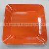 จานสี่เหลี่ยม 9 นิ้ว สีส้ม 017-P666-9