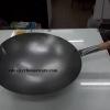 กระทะเหล็กไฟแรงครัวจีนงานโรงแรม 008-V-16,กระทะเหล็กสำหรับไฟแรง,กระทะผัดอาหารจีนไฟแรง