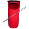 ถังขยะมีที่เขี่ยบุหรีพลาสติก 001-TC30A Bin There are ashtrays plastic. 001-TC30A