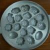 พิมพ์ขนมไข่อะลูมิเนียม ใหญ่ ขนาด 9นิ้ว 016-KK-AL19 Khanom Khai aluminum mold 9 inch. 016-KK-AL19 อุปกรณ์ทำขนม