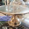 ฐานรองเค้กสเตนเลส ทรงสูง Cake stand Stainless steel รหัสสินค้า 005-JP-CS-13
