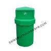 ถังขยะเนื้อโพลีเอทธิลีน ความจุ 75 ลิตร-หัวเพชร 001-TC75 Trash polyethylene Diamond Brand. 75 liter. 001-TC75