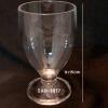 แก้วน้ำพลาสติกริมสระน้ำ Polycarbonate Beverage glass plastic Poolside. SAN-8817