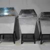 ถังขยะขนาด 18 นิ้ว 001-UC160-18 Stainless Trash Bin With Swing Cover. 001-UC160-18