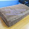 """ผ้าห่มโรงแรม สีน้ำตาลเข้ม ขนาด 60""""x80"""" Hotel blanket Brown color size 60'' * 80'' Code: TS-6080-32-2"""