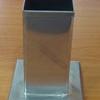 แท่นหล่อเทียนสเตนเลส รูปสี่เหลี่ยม-สูง 10 ซม. รหัสสินค้า 016-CH-03 Candle mold square shape. 016-CH-03 แบบหล่อเทียน