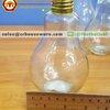 แก้วหลอดไฟ 300 ml. Drinking Bulb with screw cap 300 ml. Code : 005-J448