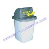 ถังขยะสีเทา 001-FT299-GR Garbage pail. 001-FT299-GR