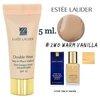 Estee Lauder Double Wear Stay-in-Place Makeup SPF 10 PA++ ขนาดทดลอง 5 ml. สี 2W0 Warm Vanilla สำหรับผิวขาวเหลือง รองพื้นเอสเต้ที่ขายดีที่สุด เนื้อกึ่งแมท ติดทนนาน กันน้ำ กันเหงื่อ เนื้อเนียนบางเบาเป็นธรรมชาติ สีไม่เปลี่ยนตลอดวัน รองพื้นที่ได้รับความนิยมสู