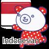 แมวที่น่ารักและหมี ชาวอินโดนีเซีย