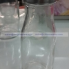 ขวดแก้ว ฝาสแตนเลสมีรูซิลิโคล 300 มล. 005-BSH-300