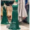 รหัส ชุดราตรียาว :PF011 ชุดแซก ชุดราตรียาวสีเขียวมรกต เหมาะใส่ไปงานแต่งงาน สวยเก๋เหมาะใส่ออกงานกลางคืน งานแต่งงาน