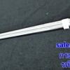 """กระบวยสเตนเลส 6 """" ม้าลาย ด้ามไม้ รหัสสินค้า 008-105315"""