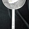 กระช้อนตักของทอดสเตนเลส(ตาห่าง),ที่ตักของทอดสเตนเลสตาห่าง ขนาดใหญ่ 12 นิ้ว 008-K-016